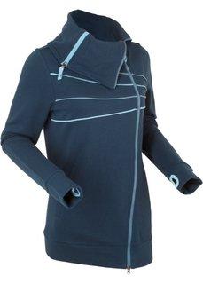 Трикотажная куртка (темно-синий) Bonprix