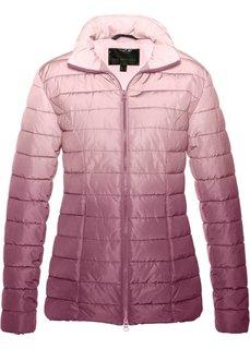 Стеганая куртка градиентной расцветки (нежно-розовый) Bonprix