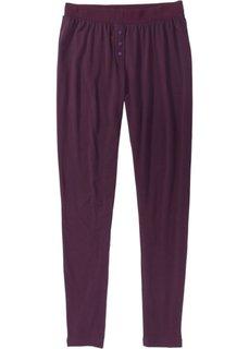 Пижамные брюки (бузиничный) Bonprix