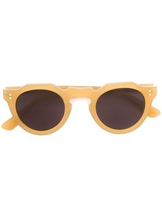 солнцезащитные очки в круглой оправе Lesca