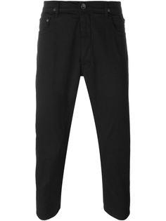 укороченные брюки прямого кроя  Rick Owens DRKSHDW