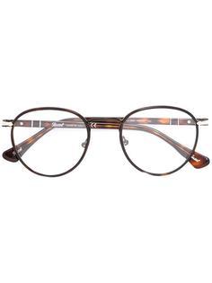 крупные очки в круглой оправе Persol