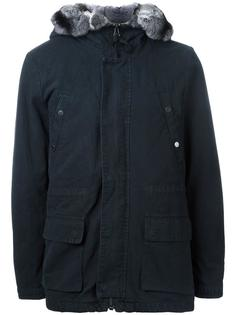 куртка с капюшоном и накладными карманами Yves Salomon Homme
