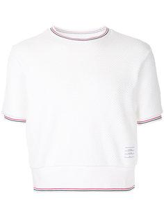 футболка с круглым вырезом Thom Browne