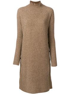 длинный вязаный свитер  By Malene Birger