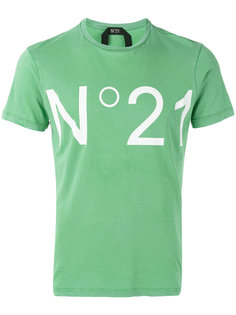 футболка с принтом No.21 Nº21