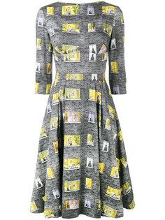 платье с вырезом-лодочкой Olympia Le-Tan