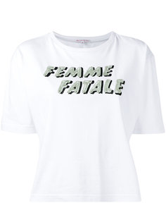 футболка со слоганом Olympia Le-Tan