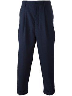 зауженные укороченные брюки Ami Alexandre Mattiussi