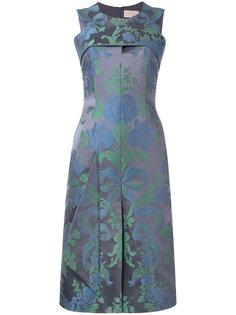 платье длины миди с жаккардовым рисунком Christopher Kane