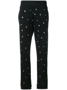 брюки-джоггеры с рисунком Christopher Kane
