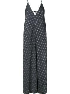 платье с V-образным узором Rito