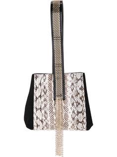 сумка с декорированной ручкой Lanvin