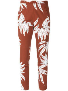 printed straight trousers Andrea Marques