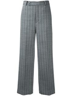 брюки в тонкую полоску Rito