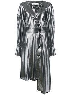 asymmetric button-up dress Wanda Nylon