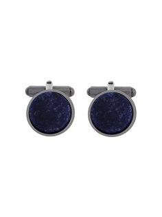 запонки с круглыми вставками из камней Lanvin