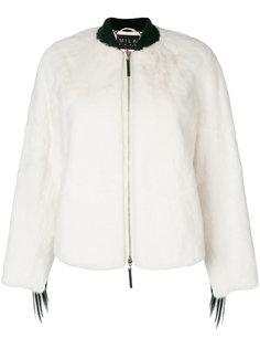 куртка-бомбер Falcon из меха норки Cara Mila
