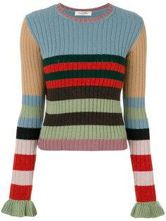 полосатый свитер Valentino