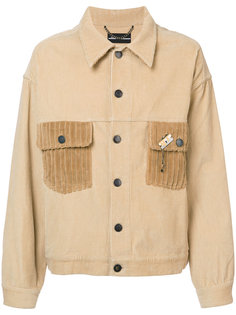 куртка рубашечного типа с вышивкой Rochambeau