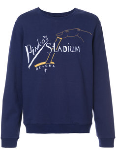 толстовка с вышивкой pinkos stadium  Rochambeau