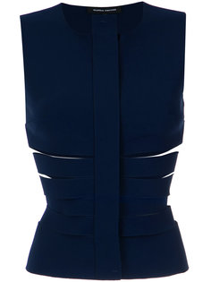 cut out gilet Gloria Coelho