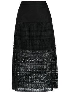 knitted midi skirt Giuliana Romanno