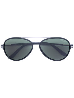 солнцезащитные очки с двойным мостом Tom Ford Eyewear