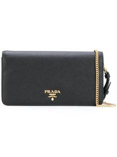 кошелек на цепочке Prada