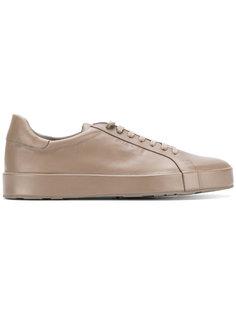 кроссовки на шнуровке Jil Sander