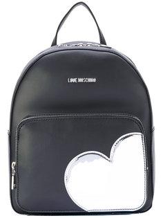 рюкзак с нашивкой-сердцем Love Moschino