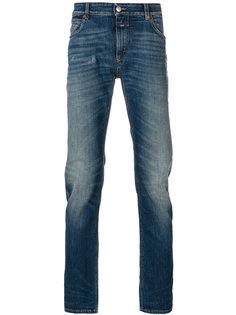 джинсы стандартного кроя с эффектом потертости Closed