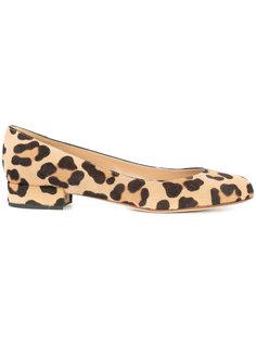 leopard print ballerinas Francesco Russo