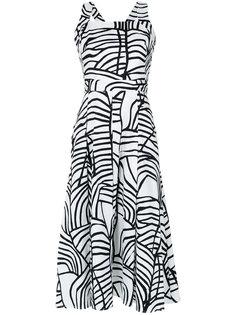 printed midi dress Andrea Marques