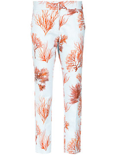 printed straight-leg trousers Andrea Marques
