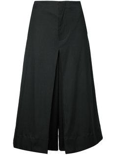 укороченные брюки со складками  Bassike