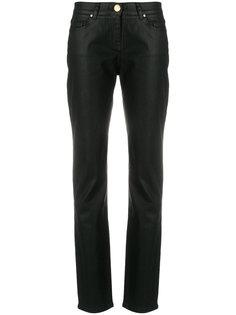 брюки скинни с высокой талией Cavalli Class