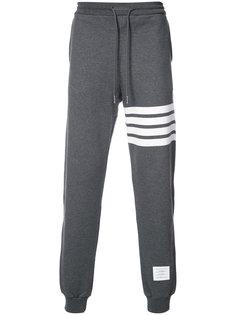 классические спортивные брюки с полосами Thom Browne
