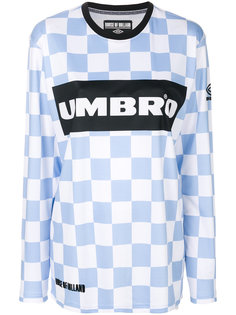 checkerboard Umbro top House Of Holland
