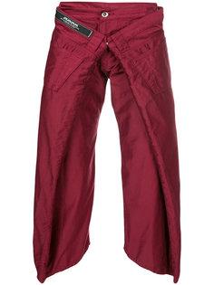 укороченные брюки  Wideshort  Anrealage