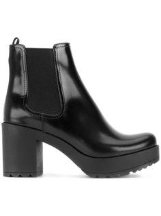 ботинки Челси на платформе Prada
