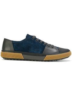 классические кеды на шнуровке Prada