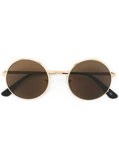 классические солнцезащитные очки Classic SL 136 Zero Saint Laurent