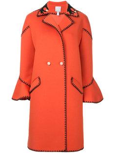 двубортное пальто  Huishan Zhang