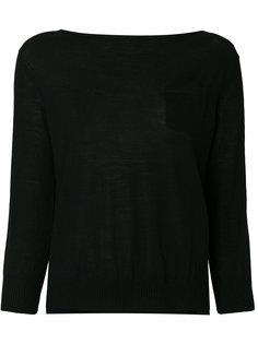 однотонный свитер  Prada