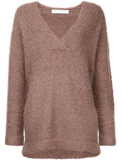shearling boucle jumper Dion Lee