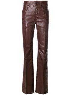 расклешенные брюки Prada
