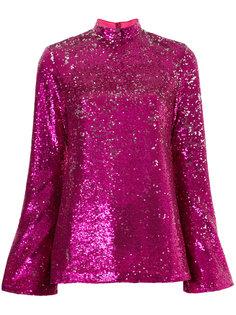 sequin embellished blouse  G.V.G.V.