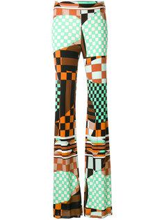 брюки с принтом  Emilio Pucci