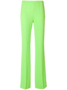 брюки с завышенной талией  Emilio Pucci